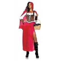 Leg Avenue Woodland Cappuccetto Rosso Lupo Fairy Fiabe Costume Halloween 85376 - $59.04