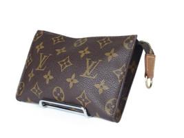 Auth LOUIS VUITTON Monogram Canvas Leather Pouch Accessories Bag LP2552 - $179.00