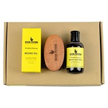 Seven Potions Beard Grooming Set Woodland Harmony. Beard Oil, Beard Shampoo and  image 4
