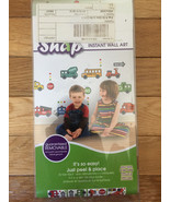 SNAP STOP N GO GLOW IN THE DARK APPLIQUES (40 DECALS) (NEW) - $24.00