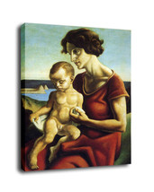 """Cartoon Art Home Decor Oil Painting Print On Canvas """"Mother And Daughter... - $13.06+"""