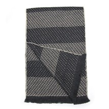Men Scarf wool GALLIENI1889 Spotted 0654 - £42.58 GBP