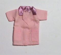 Vintage BARBIE Pink Doctor Nurse Pet Vet Jacket - $3.25