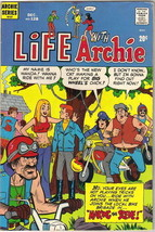 Life With Archie Comic Book #128, Archie 1972 FINE/FINE+ - $7.84
