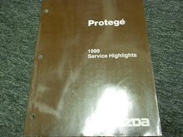 1999 Mazda Protege Service Highlights Manual BOOK OEM 99 - $19.75