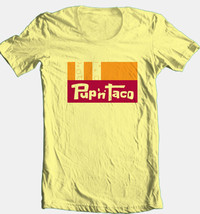 Pup n Taco T-shirt retro 80s mexican restaurant cotton graphic printed tee image 1