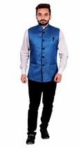 Men's Nehru style Waistcoat for kurta shalwar kameez Bollywood theme Par... - $49.36