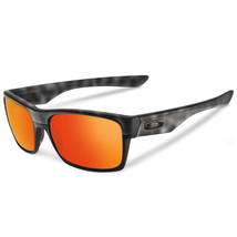 New Oakley TwoFace Matte Black Tort  w/Ruby Iridium 9189-11 - $195.95