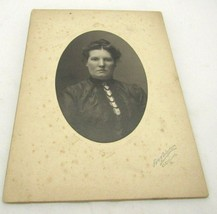 Cabinet Card Photo,Pretty Young Lady Portrait  Cleveland,OH - $6.71