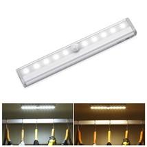 pir motion sensor led lamp AAA battery power luces led night light bar s... - €11,76 EUR