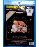 Dimensions Halloween Iron On Fashion Transfer Trick Or Treat Parade 8001... - $4.94