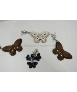 Coach F58996 /F58997 Studded Leather Butterfly Keyring/Key-Clip/ Bag Cha... - $119.00