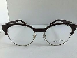 New BURBERRY B 2261 3687 50mm Burgundy Clubmaster Round Women Eyeglasses... - $119.99