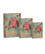 Be Wise and Keep Your Heart On The Right Path Decorative Book Boxes Dive... - $24.74