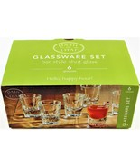 Dash of That Bar Style Shot Glass Set of 6 Heavy Weighted - $24.74