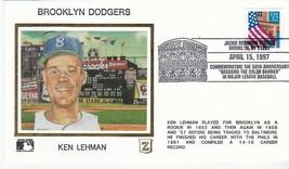 BROOKLYN DODGERS KEN LEHMAN JACKIE ROBINSON STADIUM BROOKLYN Y 4/15/97 Z... - $2.98