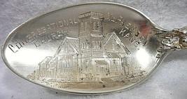 Sterling Silver Souvenir Spoon McPherson, KS Congregational Church, ca. 1900 - $35.36