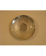 Sterling Silver Dish With Pakistani 1948 Rupee Coin - $95.00