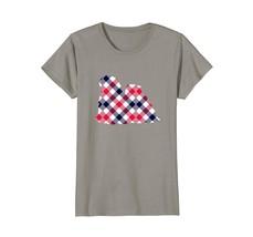 Lhasa Apso Plaid Dog Silhouette T-Shirt v1 - $19.99+