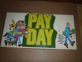 Vintage Pay Day Board Game 1975 Parker Brothers - $28.04