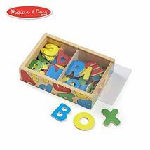 Melissa & Doug 52 Wooden Alphabet Magnets in a Box (Developmental Toys, Sturdy W - $17.00