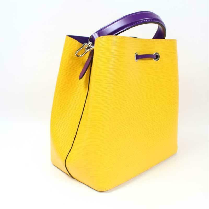 Louis Vuitton Neonoe Epi Bag Yellow Shoulder handbag M54369
