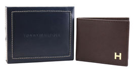 Tommy Hilfiger Men's Leather Credit Card Id Passcase Wallet Billfold 31TL22X019 image 12