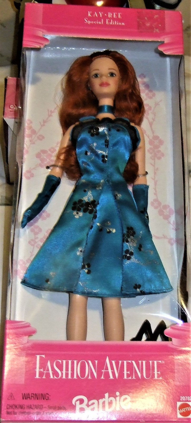 Barbie Doll - FASHION AVENUE Kay-Bee Special Ed (1998) Long Red Hair image 3