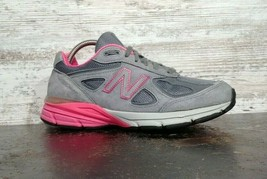 Womens New Balance 990 V3 Running Shoes SZ 7 D Wide Used Sneakers Trainers image 2