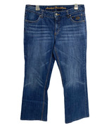 Harley Davidson women's Jeans Boot Cut Denim Pants Petite 10 - $37.52