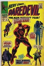 Daredevil #27 ORIGINAL Vintage 1967 Marvel Comics Spider-Man Stilt Man - $140.10