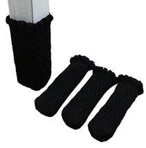 Anti Skid Chair Socks Pack of 24 - Black - $18.25
