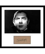 Ultra Cool - Bela Lugosi - Legend of Horror - Authentic Hand Signed Auto... - $199.99