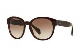 New Genuine Prada PR18RS UAN0A6 Opal Borbeaux Women's Sunglasses Glasses - $405.90
