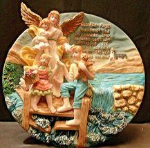 3D Guardian Angel (Plate)   AA20-2113 Vintage image 3
