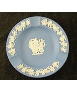 Wedgwood Blue Jasperware Ash Tray Three Graces - $14.52
