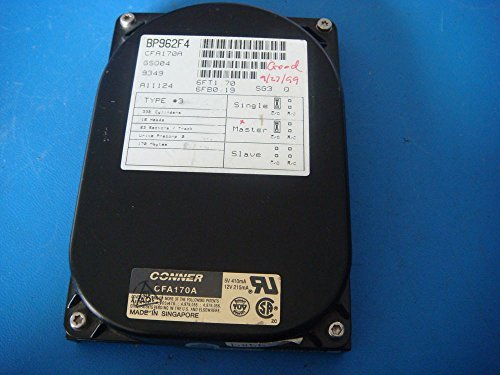 CONNER CFA170A HDA 170MB 3.5 3H IDE