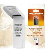 For Liftmaster 377LM Keypad Wall Garage Gate Door Opener 139.53754 Purpl... - $19.55