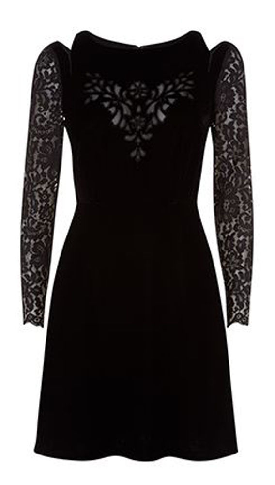 MONSOON Clary Velvet Dress Size UK 14 BNWT image 3