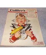 Colliers Magazine April 18 1953 Lee Burke cover Ike Eisenhower Golf FDR - $6.95