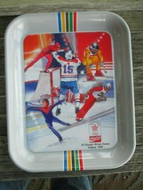 Coca-Cola 1988 Calgary Winter Games Olympic Commemorative Tray Gray - $18.81