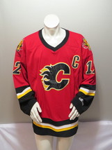 Calgary Flames Jersey (Retro) - Jarome Iginla # 12 by CCM - Men's Large  - $125.00