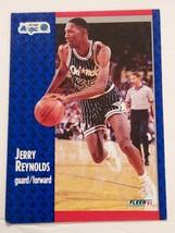 1991-92 Fleer Orlando Magic Basketball Card #146 Jerry Reynolds - $0.98