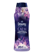 Downy Infusions CALM Lavender & Vanilla Bean In-Wash Booster Beads-20.1oz. - $19.95
