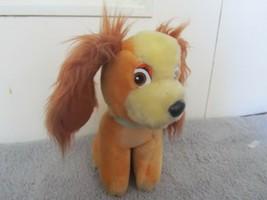 Disneyland Walt Disney LADY & THE TRAMP Plush Stuffed Animal Dog Vintage... - $5.89