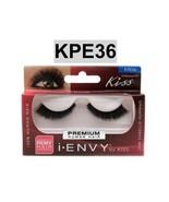 I ENVY BY KISS EYELASHES HOLLYWOOD 01-  KPE36 100% HUMAN HAIR EYELASHES - $2.56