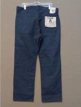 Kirkland Signature Mens Standard fit 5-Pocket Brushed Cotton Pants, New Navy - $22.76
