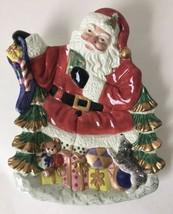 Omnibus Fitz & Floyd Santa Plate Figural for Christmas Treats - $19.95