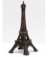Bronze Miniature Metal Eiffel Tower Paris Home Decoration Sculpture Figu... - $6.92