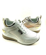 Renato Garini by Exe EX2218 Lace Up Mid Wedge Fashion Sneaker Choose Sz/... - $79.00